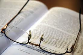 Glasses on Law Book